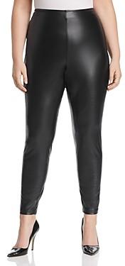 Vince Camuto Plus Faux-Leather Leggings