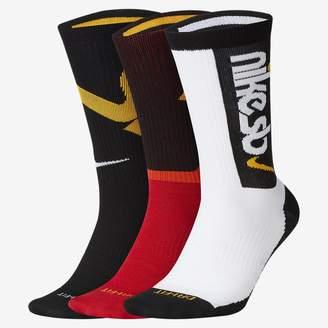Nike Skate Crew Socks (3 Pairs SB Everyday Max Lightweight