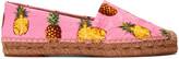 Dolce & Gabbana Pink Pineapple Espadrilles