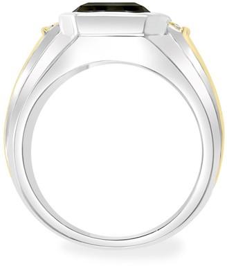 Effy Two-Tone, Smoky Quartz & Diamond Ring