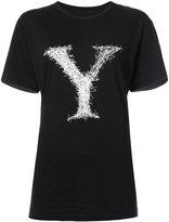 Yohji Yamamoto signature Y T-shirt