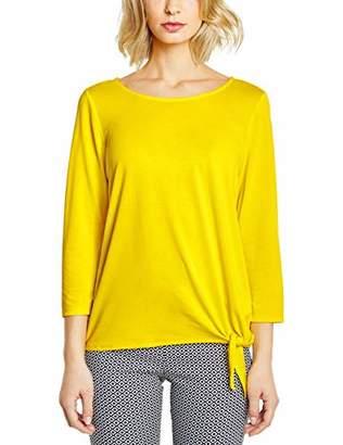 Street One Women's 313249 Femke Longsleeve T-Shirt, (Sunshine Yellow 11708), 8 (Size: )