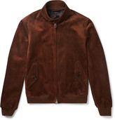 Tom Ford Slim-Fit Suede Harrington Jacket