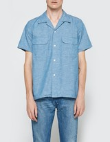 Beams Hemp Short Sleeve Shirt