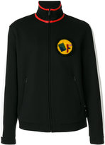 Fendi patch detail sweatshirt - men - Cotton/Polyester - 48