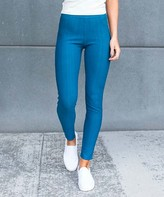 Contagious Women's Jeggings Teal - Teal Jeggings - Women