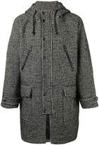 Ami Alexandre Mattiussi long rain coat
