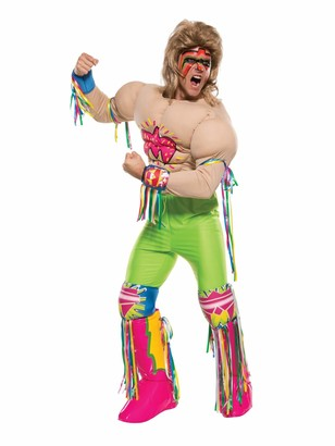 Rubie's Costume Co Men's WWE Ultimate Warrior Grand Heritage Costume