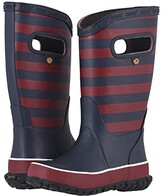Bogs Rain Boots Rugby (Toddler/Little Kid/Big Kid) (Burgundy Multi) Boys Shoes