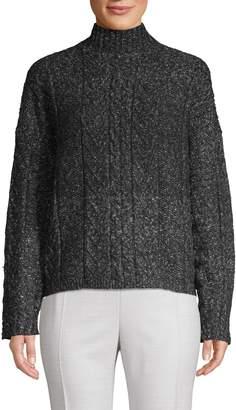 John & Jenn John + Jenn Blair Cableknit Turtleneck Sweater