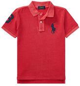 Ralph Lauren Childrenswear Three Patch Cotton Polo