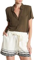 Lucky Brand Safari Hi-Lo Shirt