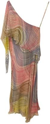 Et Vous Multicolour Silk Dress for Women Vintage