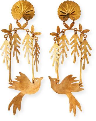 We Dream In Colour Bird's Eden Earrings