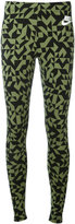 Nike printed leggings - women - Cotton/Spandex/Elastane - XS