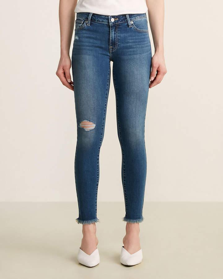 Lucky Brand Lolita Distressed Super Skinny Jeans
