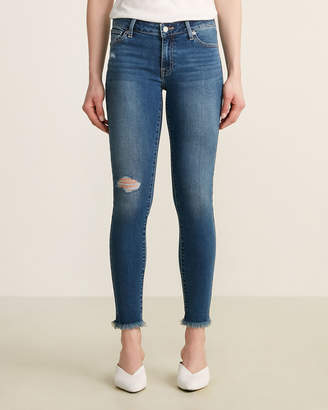 Lucky Brand Lolita Distressed Super Skinny Jeans