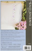 Dimensions Needlecrafts Embroidery, Hydrangeas Pillow Cases
