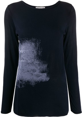 Stefano Mortari abstract print long-sleeved T-shirt
