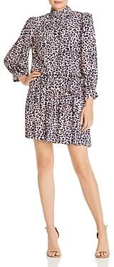 Zadig & Voltaire Robe Rivali Leopard Print Dress