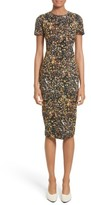 Victoria Beckham Women's Marble Jacquard Dress