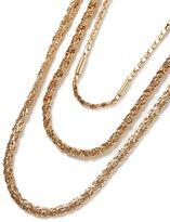 Topman Gold Multi Chain Necklace*