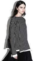 3.1 Phillip Lim Striped side-tie longsleeve t-shirt