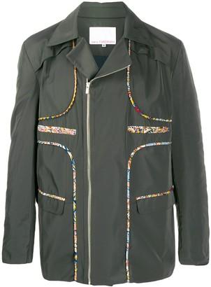 Paria Farzaneh contrast piped seams jacket