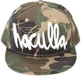 Haculla - camouflage print logo cap - unisex - Cotton - One Size