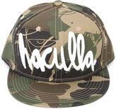 Haculla camouflage print logo cap