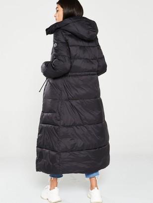 Armani Exchange Padded Coat - Black