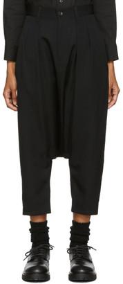 Comme des Garcons Black Drop Crotch Trousers