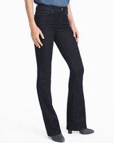 White House Black Market Mid-Rise Skinny Flare Jeans