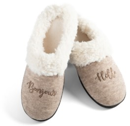 Isotoner Signature Isotoner Women's French Novelty Slipper, Online Only