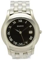 Gucci 5500M Stainless Steel Quartz 35mm Mens Watch