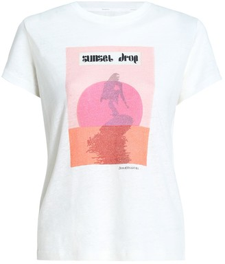 Zimmermann Wavelength Poster Tee