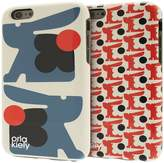 Orla Kiely Two-Part Design Fashion Hardshell Duo Phone Case Pack For IPhone 6/6S - Baby Bunny & Bonnie Bunny Design