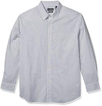 Chaps Men's Tall Classic Fit Long Sleeve Stretch Easy Care Shirt