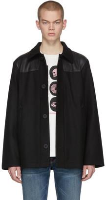 Nudie Jeans Black Bertie Donkey Jacket