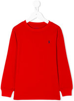 Ralph Lauren classic logo knitted top