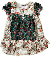 Bonnie Jean Bonnie Baby Girls Newborn-24 Months Mixed-Floral-Printed Dress