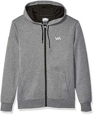 RVCA Men's Sideline Zip UP Hooded Sweatshirt