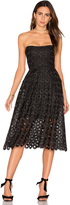 Nicholas Spot Lace Ball Dress