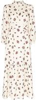 Rebecca De Ravenel floral maxi dress
