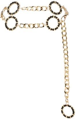 B-Low the Belt Chain Link Circle Belt