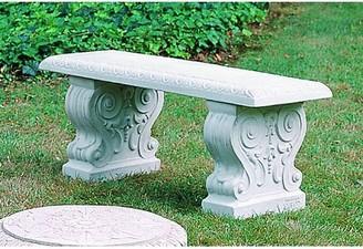 Astoria Grand Ladetto Traditional Straight Bench Color: Ferro Rustico Nuovo