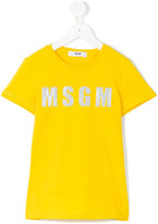 MSGM logo T-shirt - kids - Cotton - 4 yrs