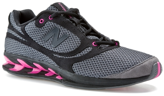 New Balance Women's WW850 Walking Shoe - Black/Pink