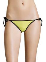 Wildfox Couture Contrast Reversible Bikini Bottom