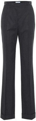 Gabriela Hearst Shipton wide-leg stretch-wool pants